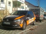 VW Polo mit Anhänger